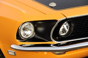 Retrobuilt 1969 Mustang Fastback headlights