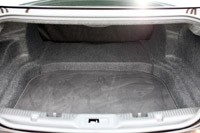 2013 Lincoln MKS EcoBoost trunk
