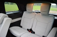 2013 Mercedes-Benz GL550 third row