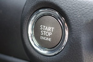 2013 Lexus GS 350 F Sport start button