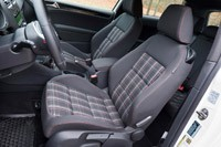 2012 Volkswagen GTI front seats