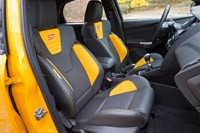 2013 Ford Focus ST front seats