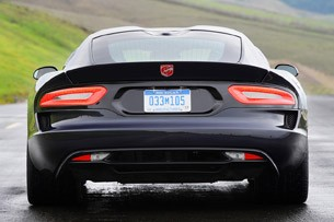 2013 SRT Viper rear view
