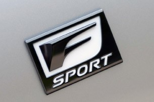 2013 Lexus GS 350 F Sport badge