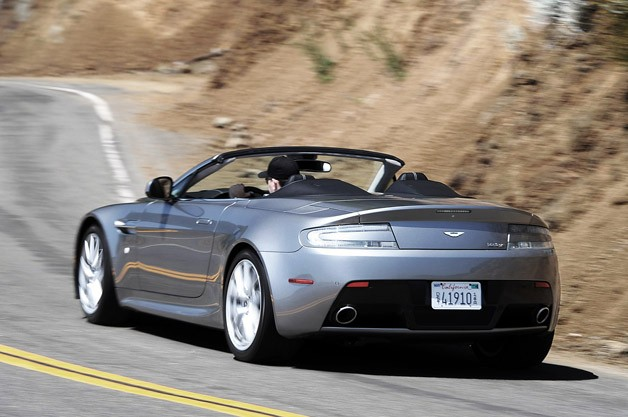 2012 Aston Martin V8 Vantage Roadster driving