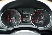 2012 Volkswagen GTI gauges