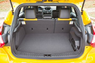 2013 Ford Focus ST rear cargo area