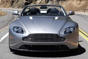 2012 Aston Martin V8 Vantage Roadster front view