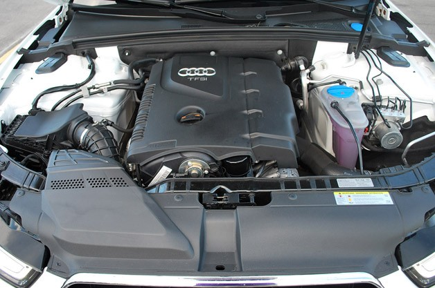 2013 Audi A5 2.0T Quattro engine