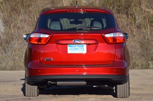 2013 Ford C-Max Energi rear view