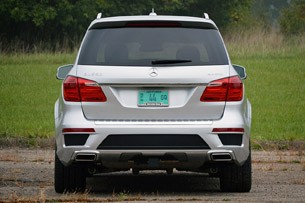 2013 Mercedes-Benz GL550 rear view