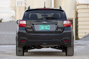 2013 Subaru XV Crosstrek rear view