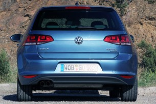 2015 Volkswagen Golf rear view