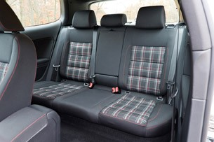 2012 Volkswagen GTI rear seats