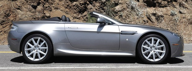 2012 Aston Martin V8 Vantage Roadster side view