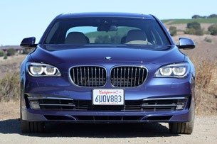 2013 BMW Alpina B7 front view