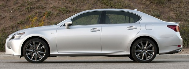 2013 Lexus GS 350 F Sport side view