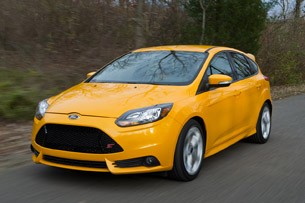 2013 Ford Focus ST driving