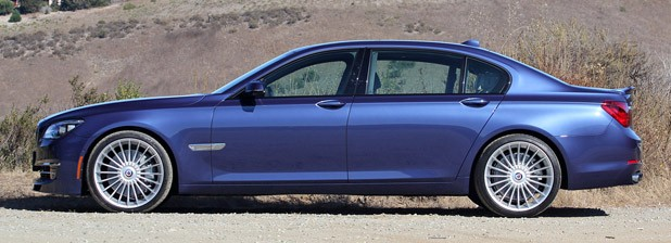 2013 BMW Alpina B7 side view