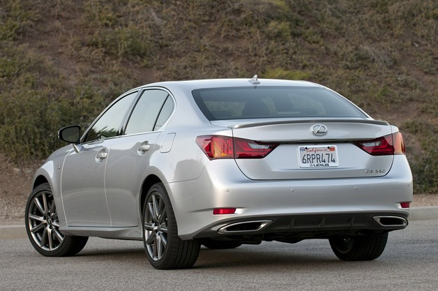-tuned GS is a better sport sedan than the benchmark BMW 535i