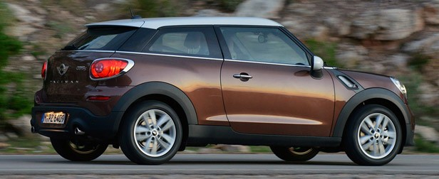 2014 Mini Cooper S Paceman driving