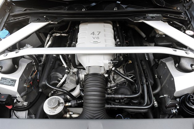 2012 Aston Martin V8 Vantage Roadster engine