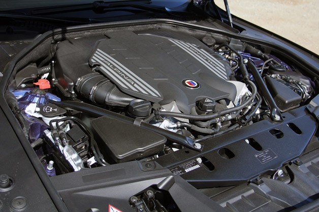 2013 BMW Alpina B7 engine