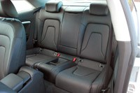 2013 Audi A5 2.0T Quattro rear seats