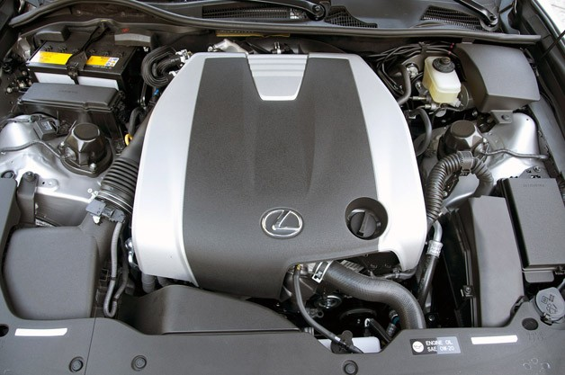 2013 Lexus GS 350 F Sport engine
