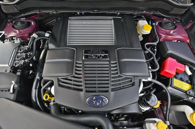 2014 Subaru Forester engine