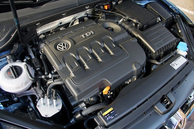 2015 Volkswagen Golf engine