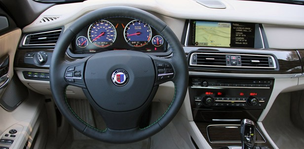 2013 BMW Alpina B7 interior