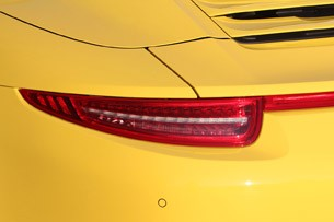 2013 Porsche 911 Carrera 4S taillight