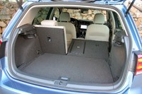 2015 Volkswagen Golf rear cargo area