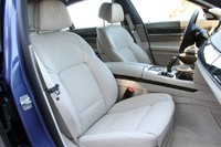 2013 BMW Alpina B7 front seats