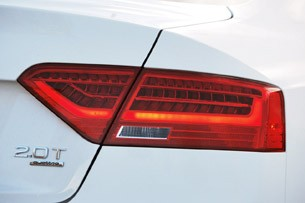 2013 Audi A5 2.0T Quattro taillight