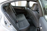 2013 Lexus GS 350 F Sport rear seats