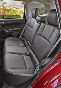 2014 Subaru Forester rear seats