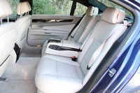 2013 BMW Alpina B7 rear seats