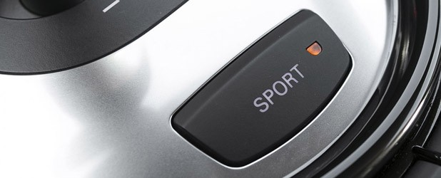 2014 Audi R8 V10 Plus sport mode button