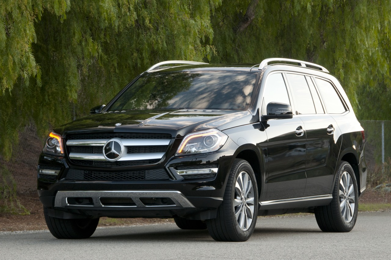 2013 mercedes benz gl350 bluetec autoblog for Mercedes benz gl 350