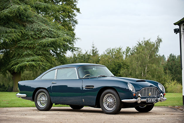 Aston Martin DB5 owned by Paul McCartney