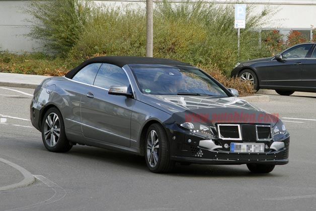 2014 Mercedes-Benz E-Class Cabriolet spotted testing