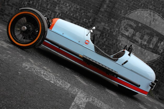 Morgan 3 Wheeler Gulf Edition - profile