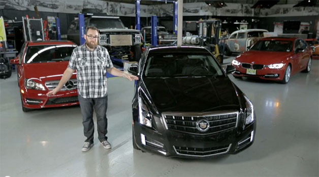 Motor Trend goes head-to-head-to-head in Cadillac ATS 3.6, BMW 335i and Mercedes C350 Sport
