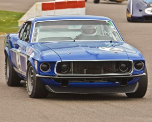 Trans Am Mustang at Goodwood Revival