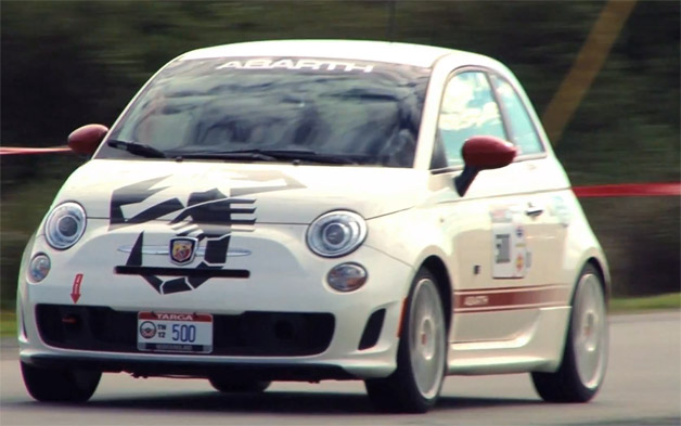 Targa Newfoundland Fiat 500 Abarth