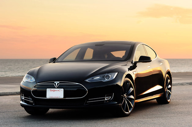 Tesla Model S among best inventions of 2012