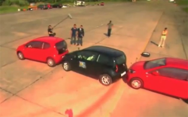World Record Parallel Parking