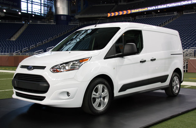 Ford shows off commercial version of new Transit Connect